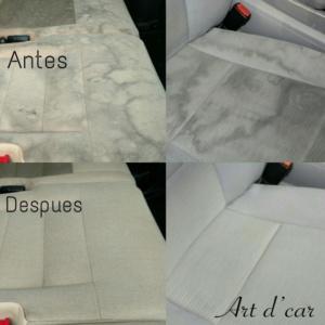 Limpieza de tapicerías