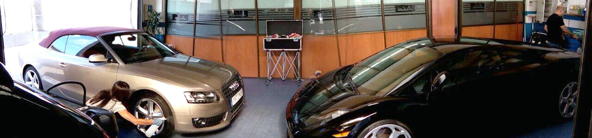 Lavaderos de coches en Madrid