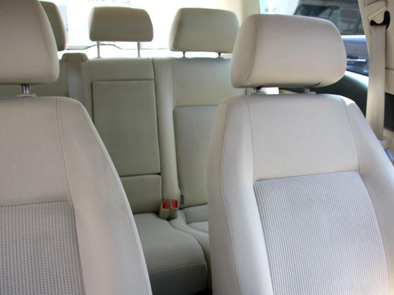 Limpiar asientos del coche
