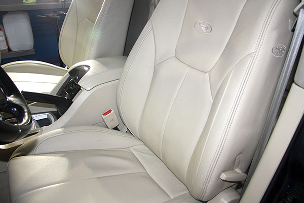 Limpieza interior del coche
