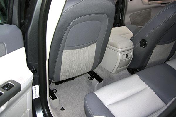Tapizado de asientos del coche