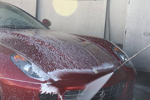 mantener el coche limpio